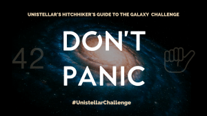 Don't Panic Hitchhiker's Guide to the Galaxy Challenge