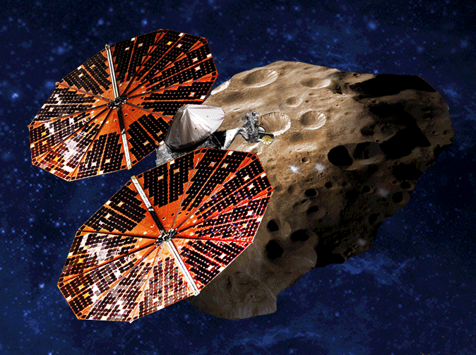 NASA Lucy Mission Trojan Asteroid