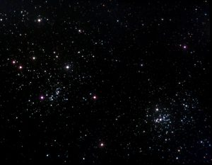 Double Cluster open clusters stars NGC 869 NGC 884